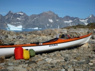 Using the Filler plus another Bag kayaking in Greenland. It's easier to stow 2 smaller bags rather than 1 big one.