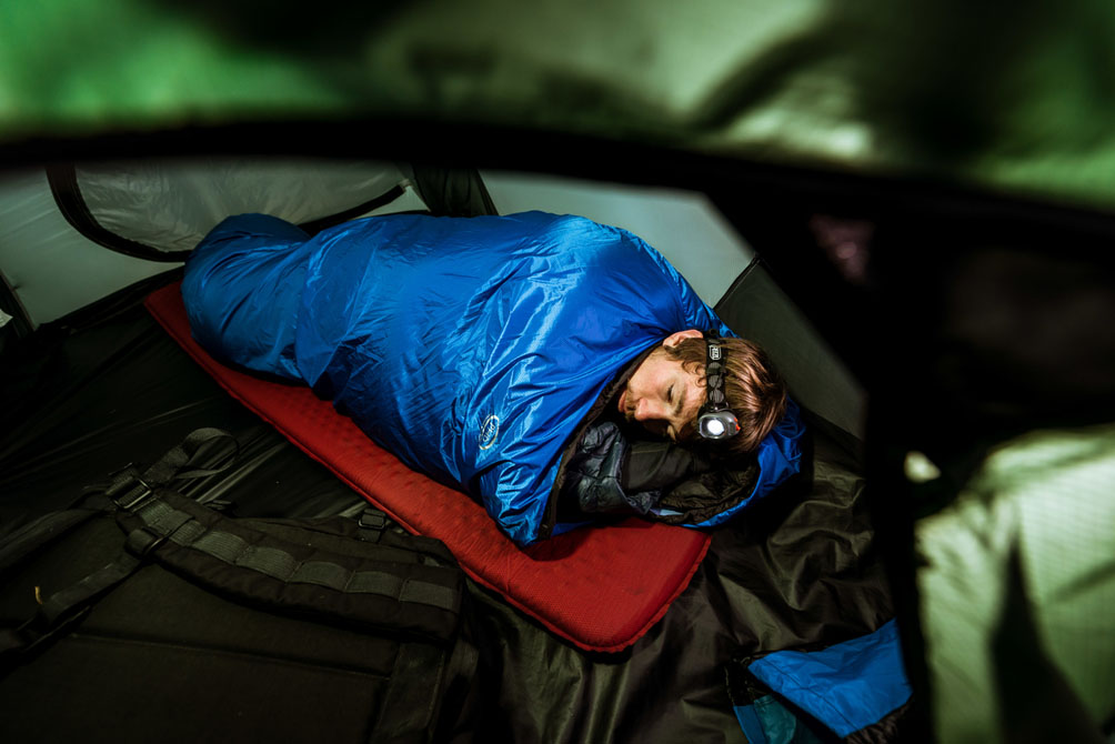 Sleeping bag cover