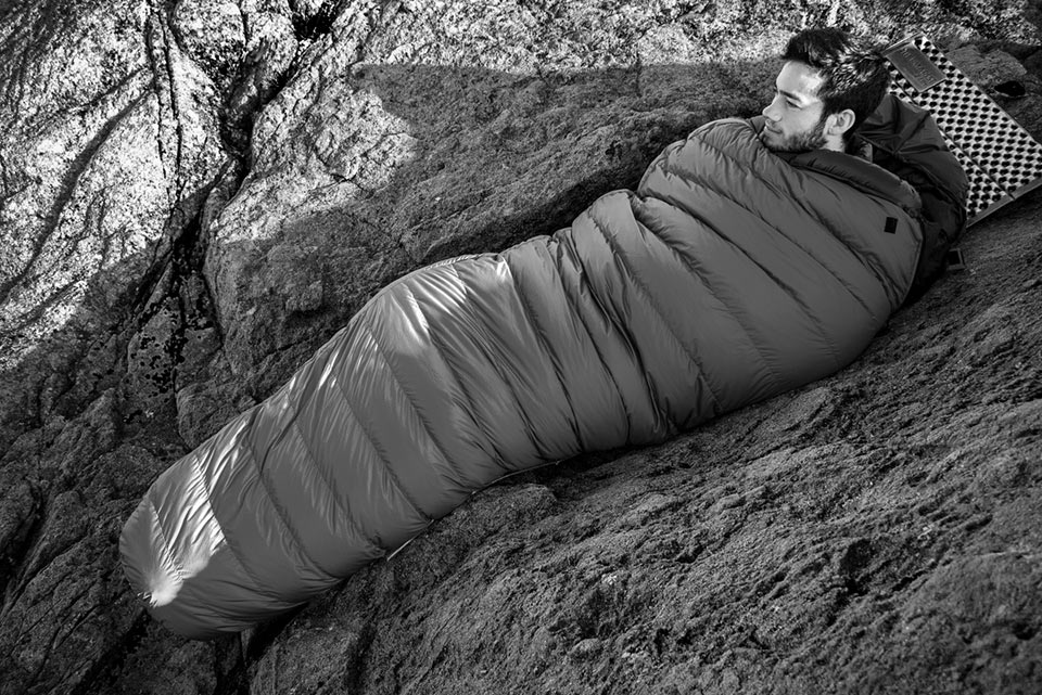 Hispar 1000 Down Sleeping Bag: K Series