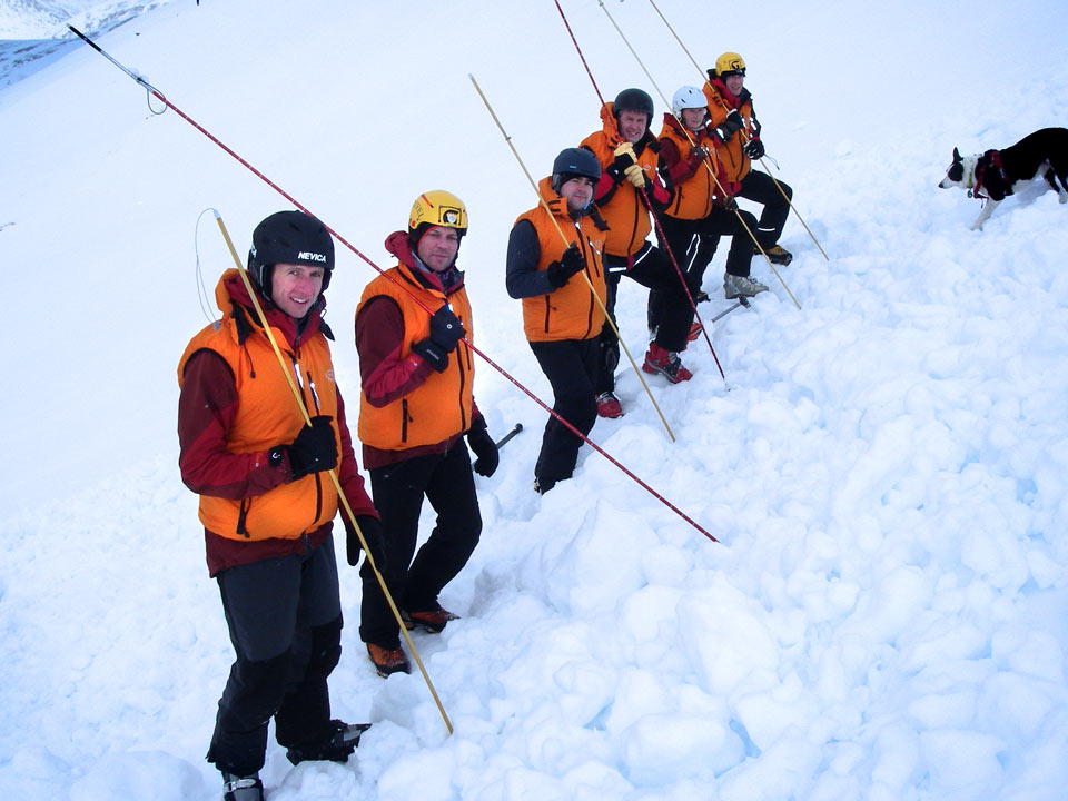 As used by the Braemar Mountain Rescue team