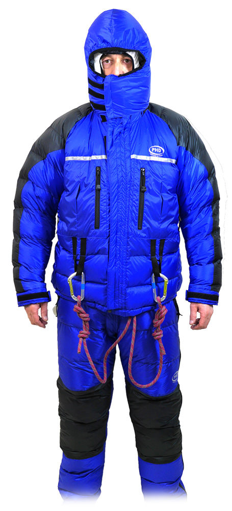 Outer Jacket & Trousers of Expedition Double Down Suit