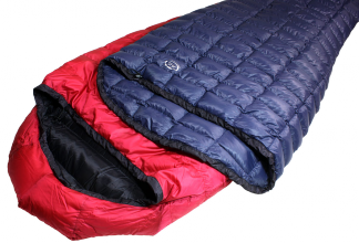 Filler Down Sleeping Bag: 'K Series'