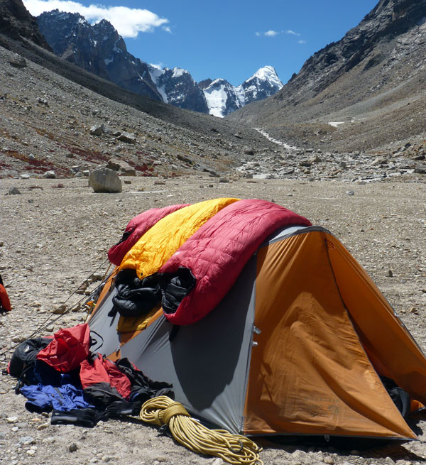 On expedition in Zanskar Himalaya, India