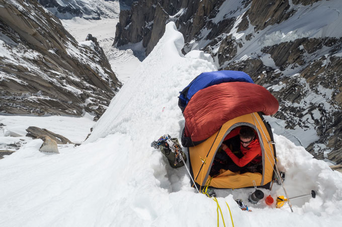 As used by Jon Griffith and Andy Houseman in their 1st ascent of Link Sar West, Pakistan (photo: copyright Jon Griffith)