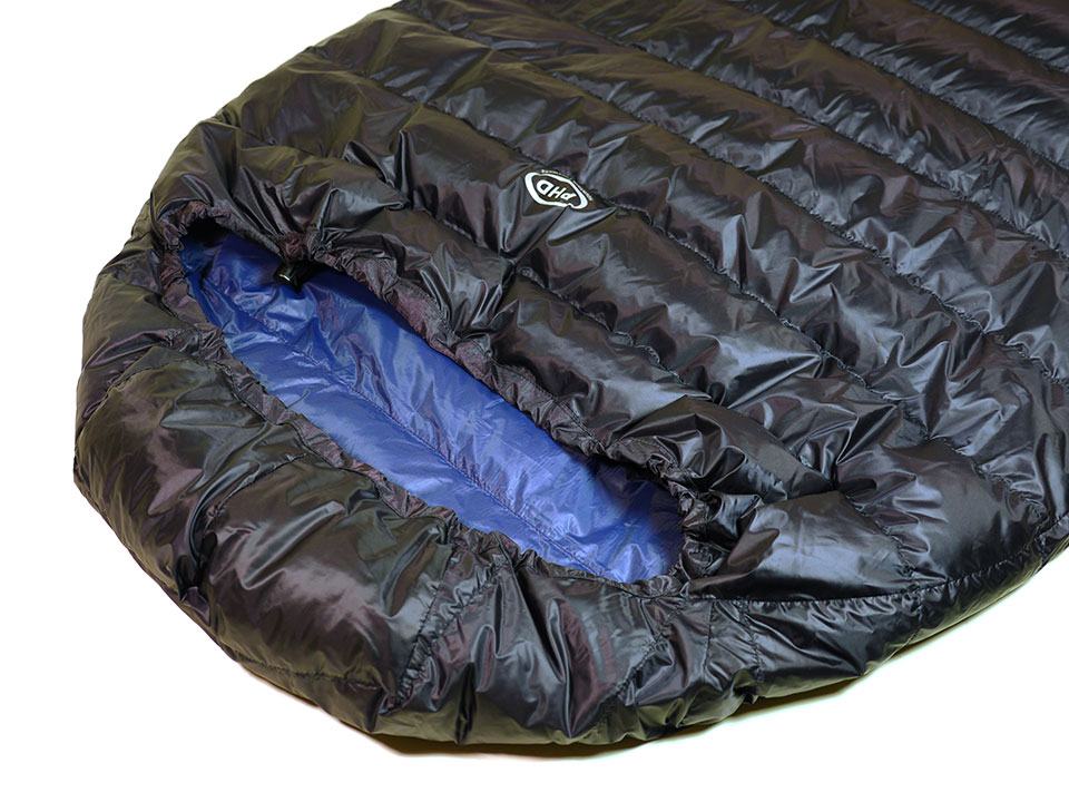 Minim Ultra Down Sleeping Bag: K Series. Ready Made - Ships in 3 days