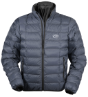 Wafer Down Jacket in charcoal Ultrashell