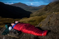 Optional zip-in width extender turns bag into a double (available, for this bag, in Charcoal, not Orange as shown)