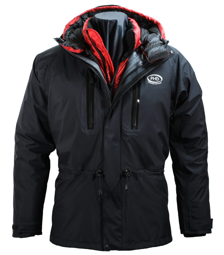 Alpamayo Waterproof Jacket - hood down