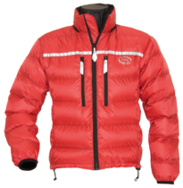 Alpine Ultra Down Jacket in red Drishell