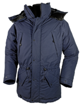 Baffin Ventile and Down Jacket in Navy Black