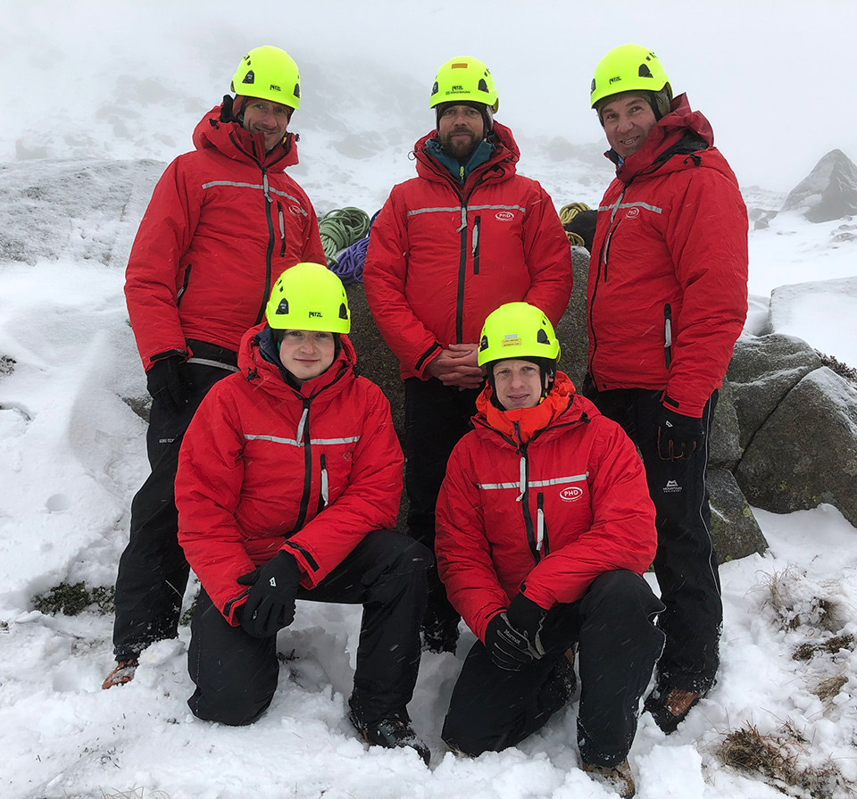 Our Epsilon Jacket is standard-issue for Braemar Mountain Rescue Team members