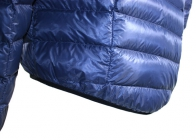 Wafer Down Jacket, showing drop-tail