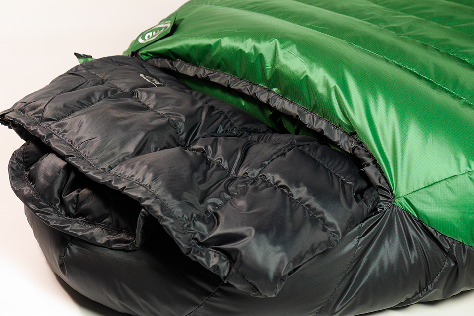 Filler Sleeping bag inside another PHD bag (sold separately)