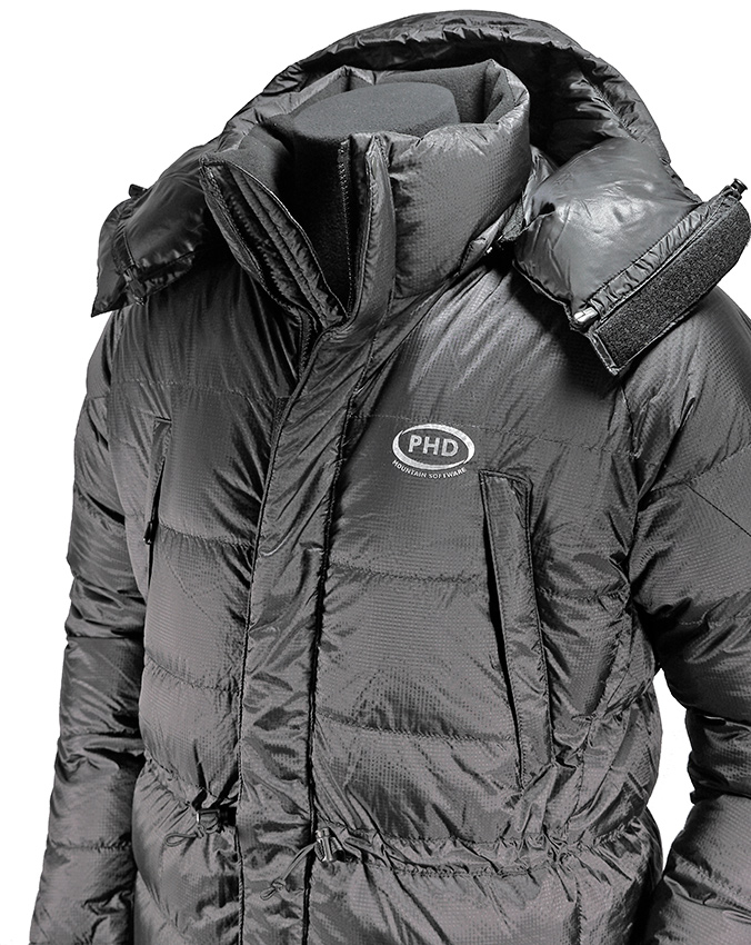 Hispar tailor-made Down Jacket - black