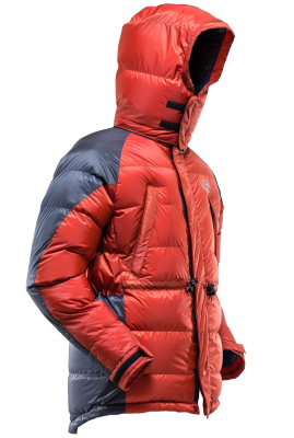 Hispar Down Jacket K Series (Orange & Charcoal)