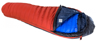 Hispar Combi K Series, shown with Hispar 500 sleeping bag inside (Hispar 500 must be purchased separately)