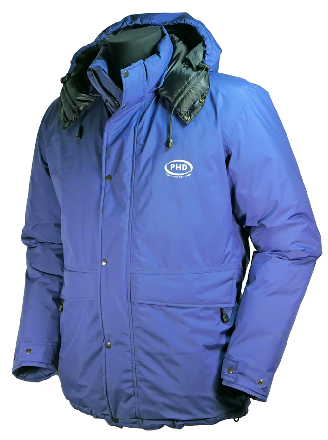 Icefall Down jacket (light navy)