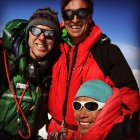 Rob Lucas, Everest summit, Xero 'K Series' Suit (with Kenton Cool and Dorje Gyalzen Sherpa)