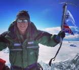 Rob Lucas, Everest summit, Xero 'K Series' Suit. (Photo: Kenton Cool)