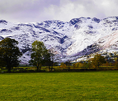 Winter Camping in Langdale, the Lake District, UK
