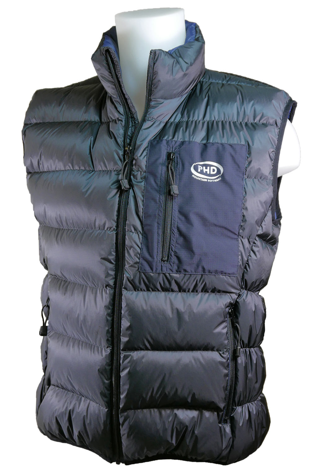 Minimus Down Vest - Charcoal