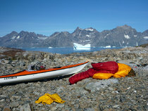 Using the Overbag plus another bag kayaking in Greenland. It's easier to stow two smaller bags.