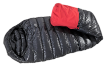 Minimus Degree 200 Down Sleeping bag with optional waterproof foot cover
