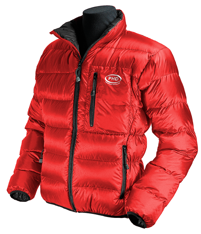 Minimus Down Jacket - red with black inner