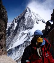 North couloir of Lhotse (photo: Domhnall O Dochartaigh)