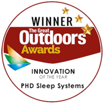 Sleep Systems: Winner of 'Innovation of the Year' in TGO Magazine's 2016 awards.