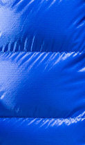 Blue Ultrashell fabric.