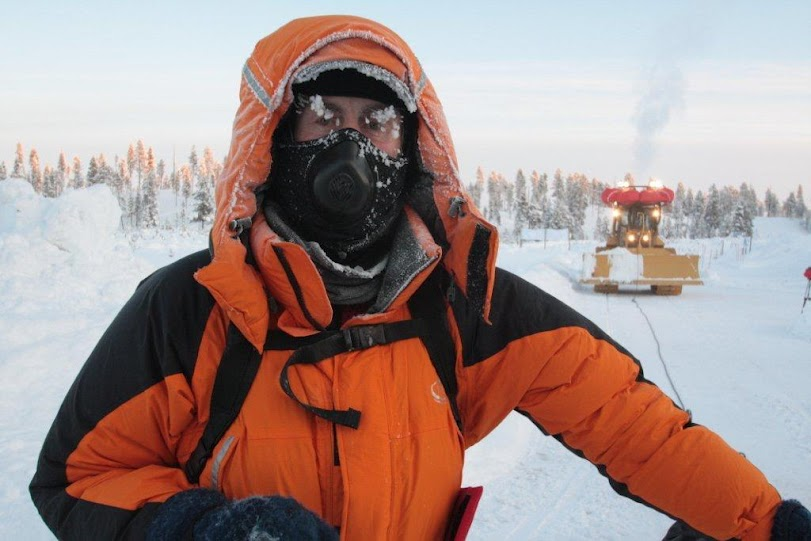 Sir Ranulph Fiennes used an Omega Jacket on his Trans-Antarctic Winter Expedition - The Coldest Journey