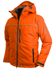 Troms Ventile® Down Jacket in orange