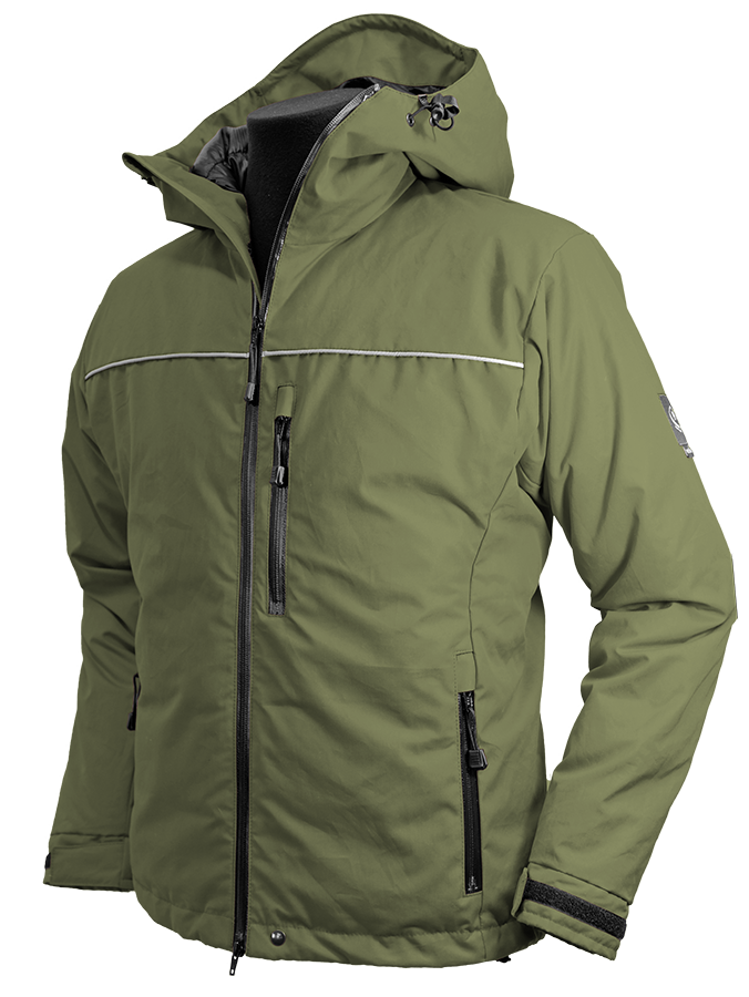 Troms Ventile® Down Jacket in olive