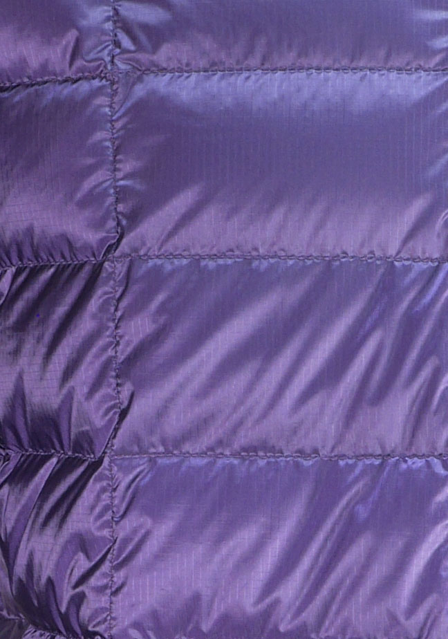 Purple Ultrashell fabric.