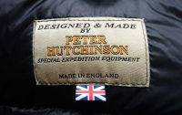 Peter Hutchinson label (inside jacket)