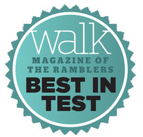 The Ramblers' 'Walk' Magazine, Best in Test.