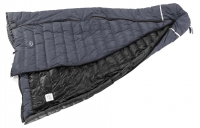 Optional zip-in width extender. Turns bag into a double.