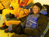 On Everest with Anja Blacha