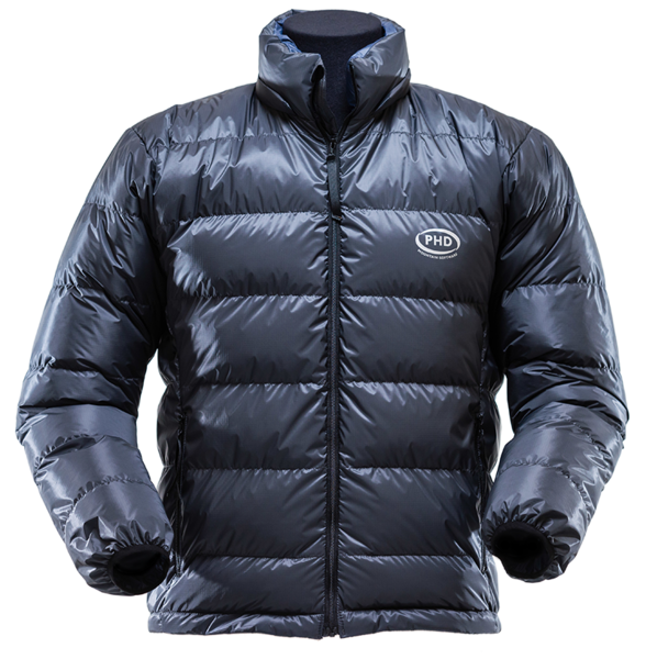 Yukon Down Jacket: K Series (included hood not shown)