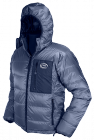 Yukon Down Jacket - charcoal Drishell Plus fabric