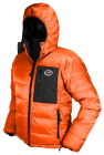 Yukon Down Jacket - orange Drishell Plus fabric