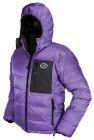 Yukon Down Jacket in purple Ultrashell
