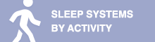 sleep systems by activity